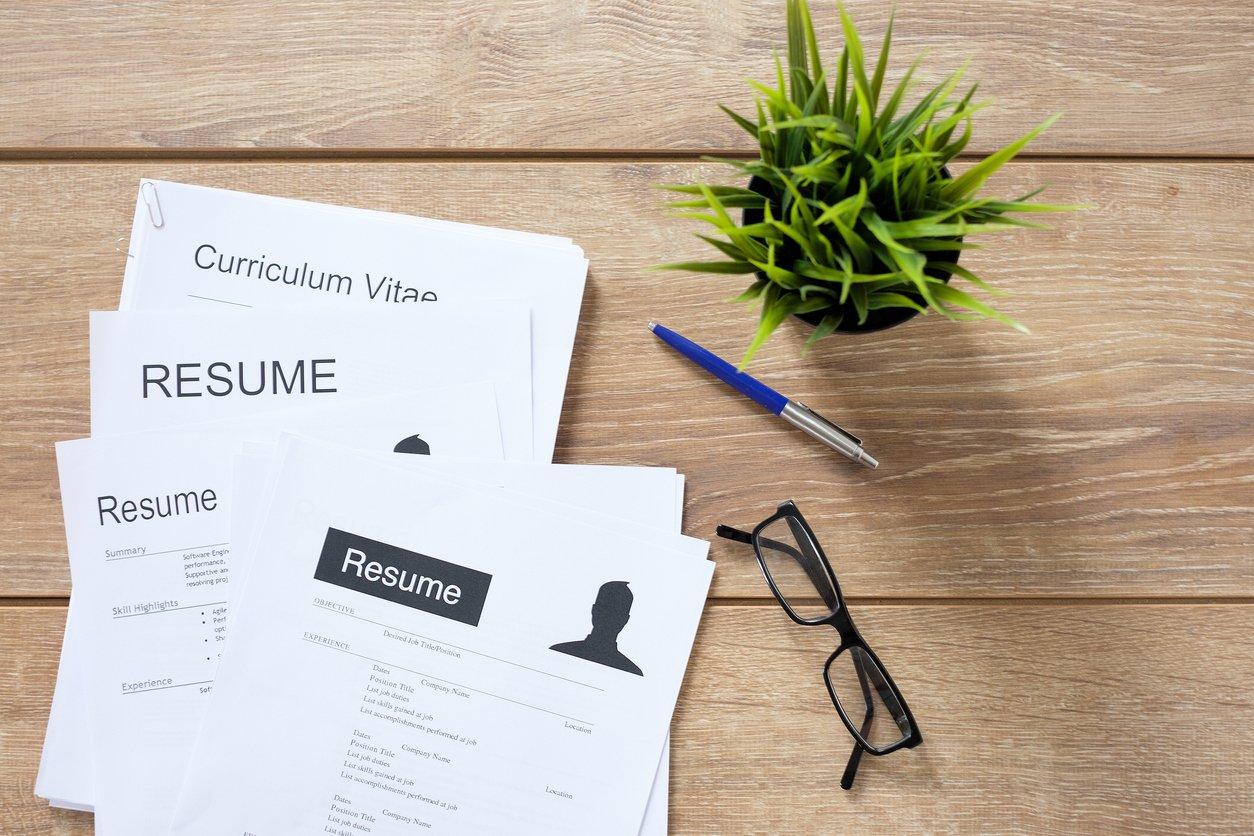 CV format for sport
