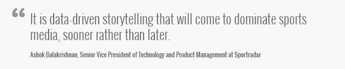 Sport Innovation Sportradar Quote